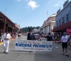 2013 Marching Lincolns July 4th Grass Valley